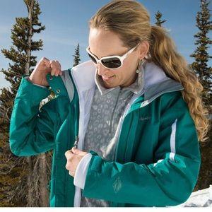 Columbia 3-in-1 interchange ski and snow jacket